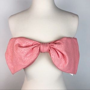 NEW  🌸 BETTER BE Bow Bandeau Top L